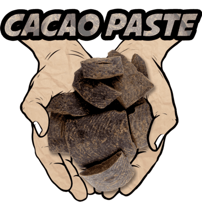Cacao Paste, Ceremonial Grade, Organic, 16 oz