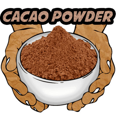 Cacao Powder, Ceremonial Grade, Organic, 16 oz