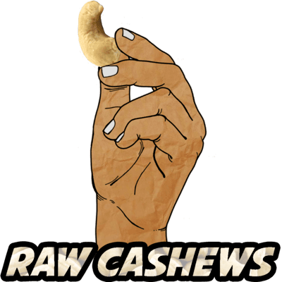 Cashews, Raw, Organic, 16 oz