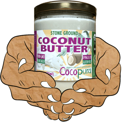 Coconut Butter, Raw, Organic, Stone Ground, 16 oz