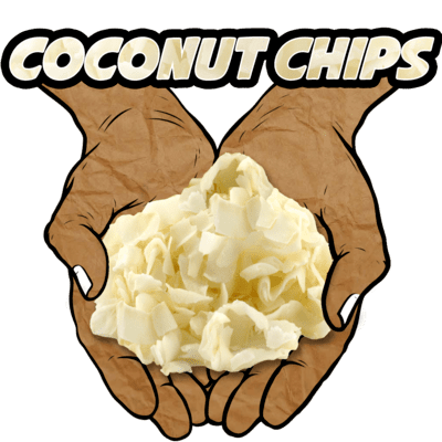Coconut Chips, Raw, Organic, 8 oz