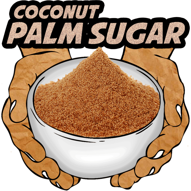 Coconut Palm Sugar, Raw, Organic, 16 oz