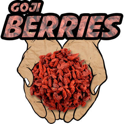 Goji Berries, Raw, Organic, 16 oz