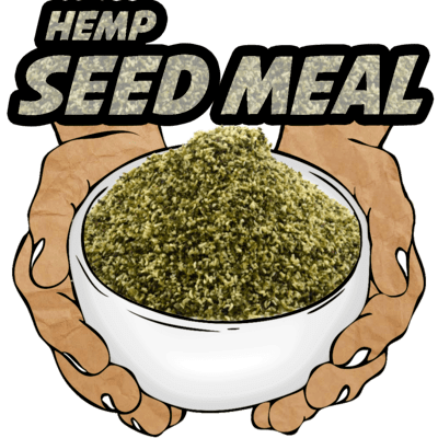 Hemp Seed Meal, Raw, Organic, 16 oz